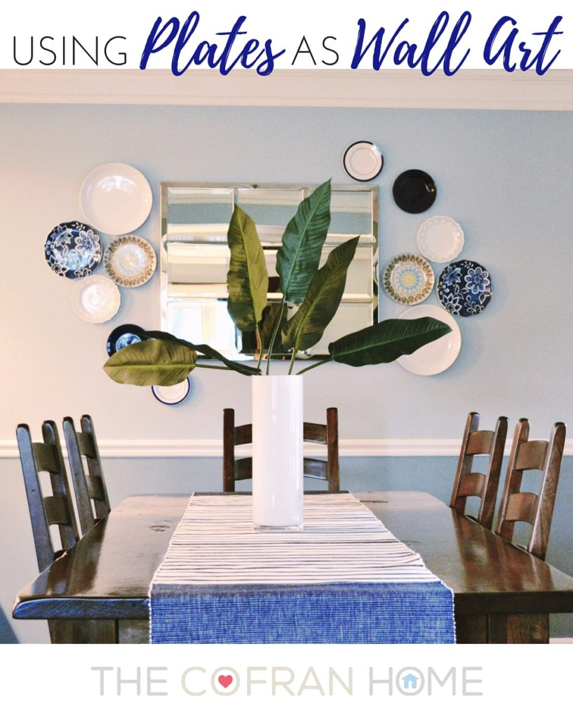 Wall Plates Home Decor : Using plates as wall art the cofran home