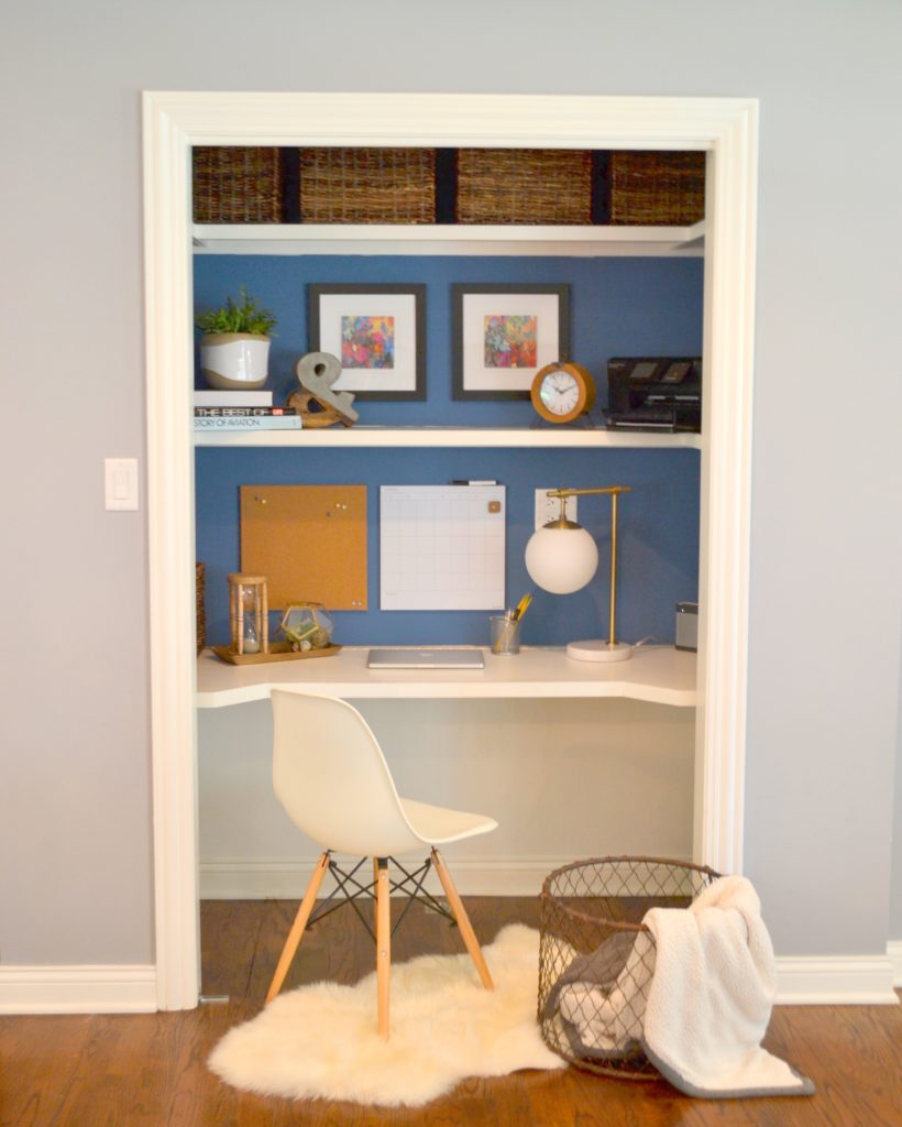 "Home Office Design Gallery: ""Closet Desk"" Makeover"